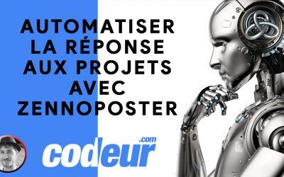 Automatiser la réponse aux projets codeur.com